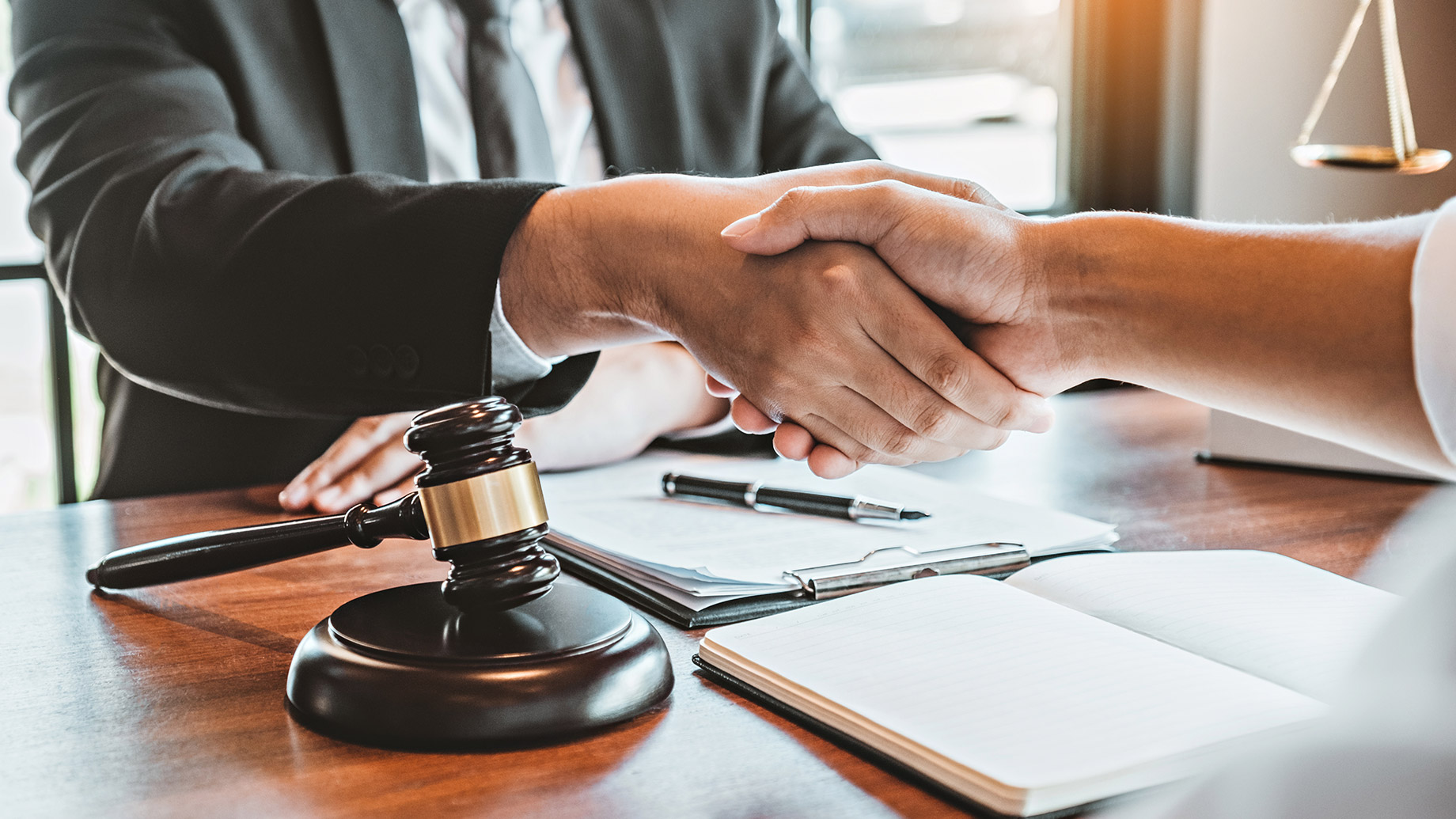 real estate laawyer handshake deal
